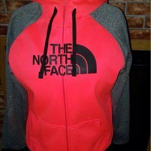 North Face Hoodie zip up